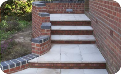 Steps and ramps